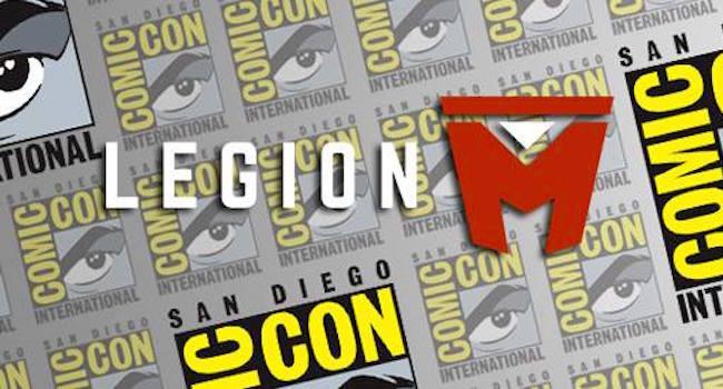 Legion M SDCC
