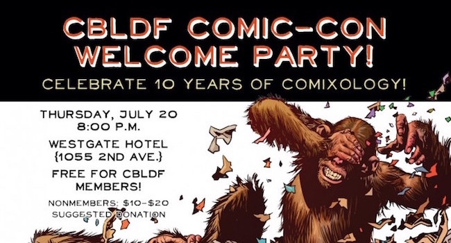 CBDLF SDCC Welcome Party