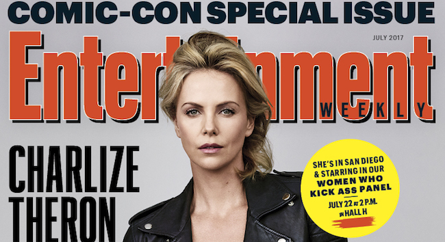 Charlize Theron - Entertainment Weekly - SDCC