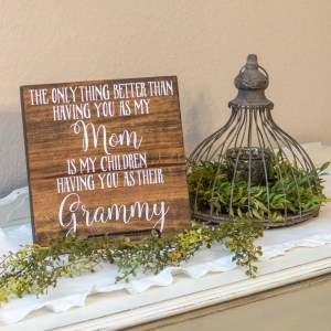 Grammy Handmade Solid Wood Sign