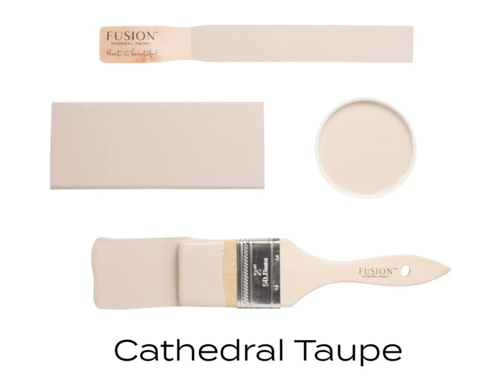 Fusion Mineral Paint Cathedral Taupe