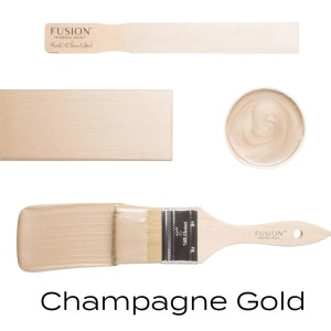 Fusion Mineral Paint Champagne Gold Metallic