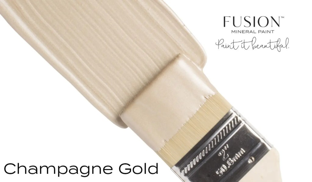 Fusion Mineral Paint Champagne Gold