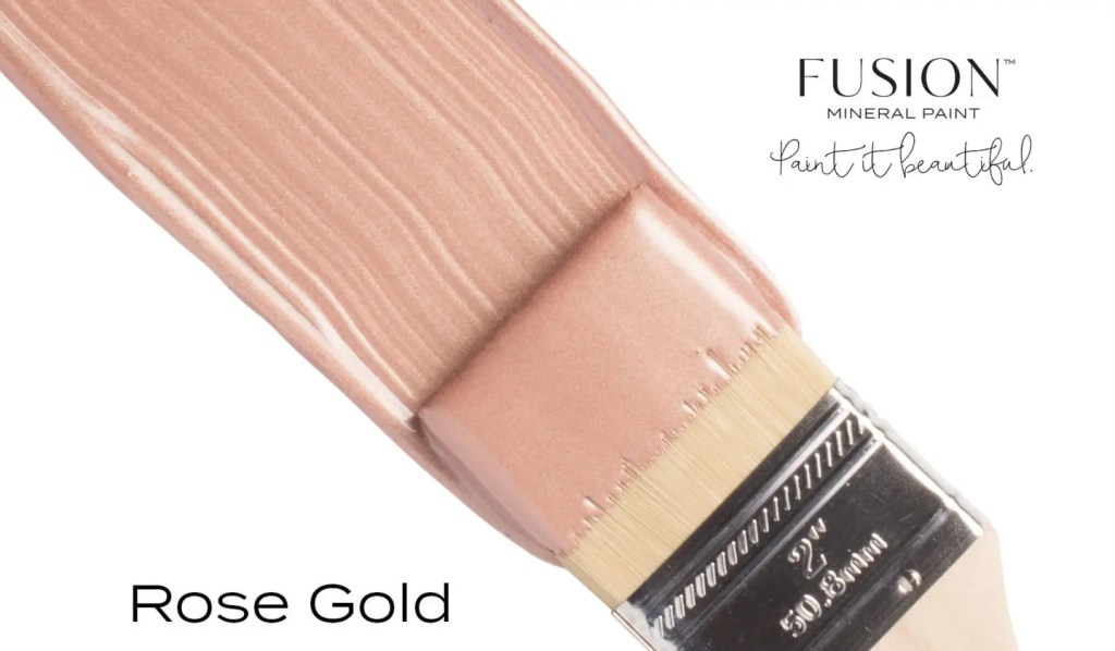 Fusion Mineral Paint Rose Gold