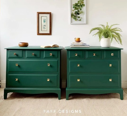 Bold Furniture Colors Fusion Mineral Paint Pressed Fern