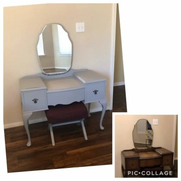 Goggins Creations Small Business Fusion Mineral Paint Refurbished Furniture