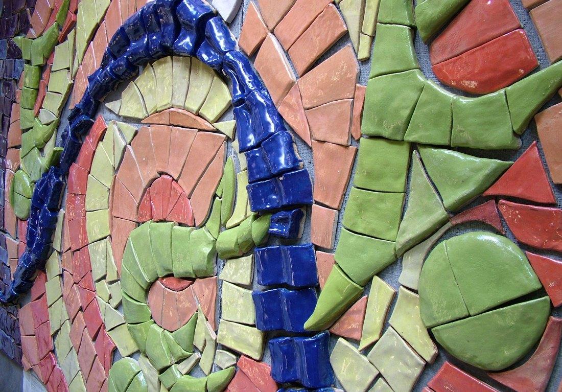 Exterior_GCAP Tile Mosaic Mural