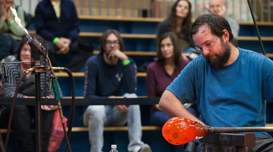 Event_Arts Festival Reading_Hot Glass Demo