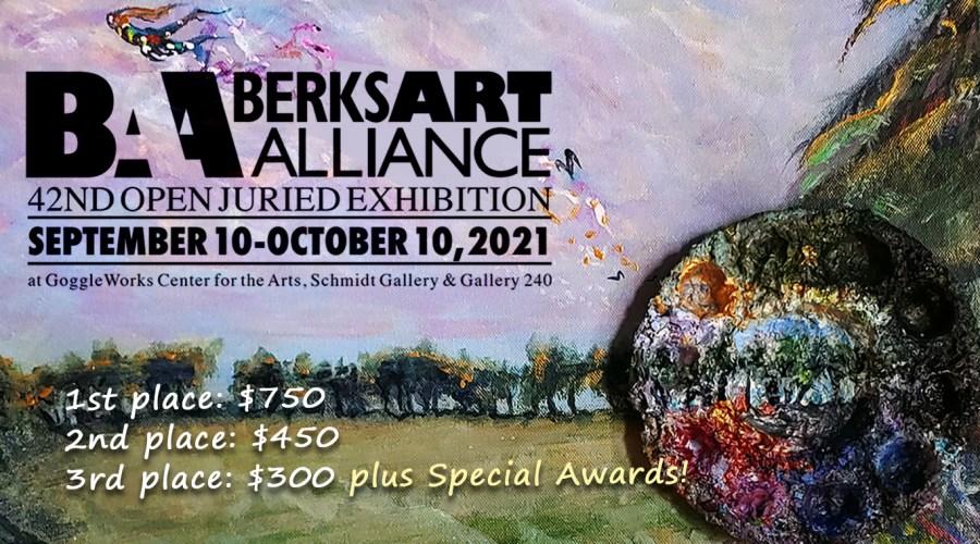 Berks Art Alliance Juried Exhibition Poster