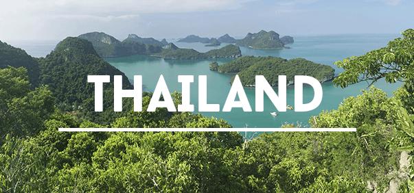 Reisetipps für Thailand