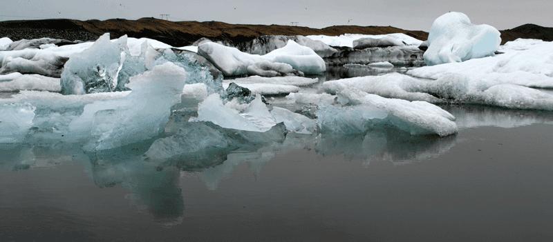 Reisetipps für Island: Eisberge in der Jökulsárlón