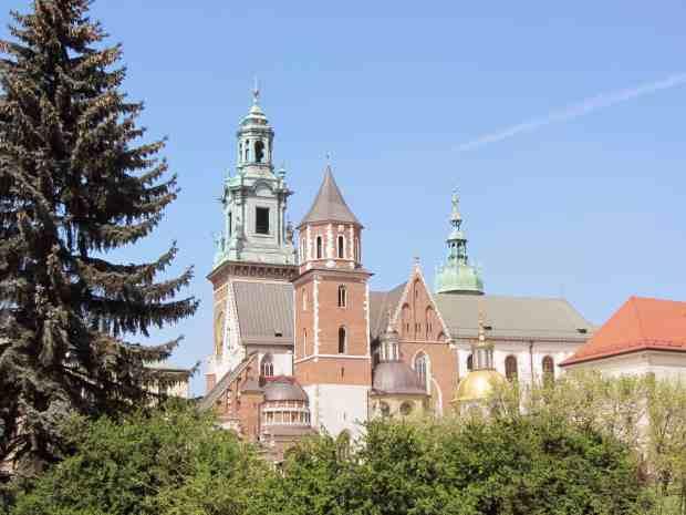 Königgschloss Wawel in Krakau