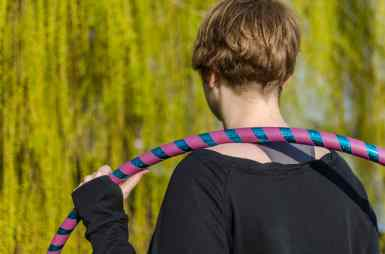 Hula-Hoop-Reifen Back