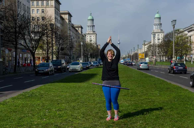 Hula-Hoop in Berlin