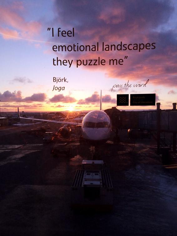 Mit Icelandair nach Island