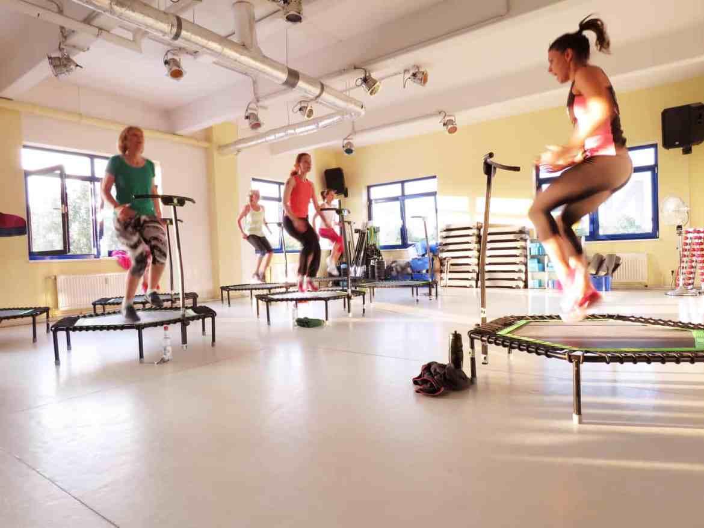 Jumping-Fitness-Kurs im Paramount Fitness Treptow