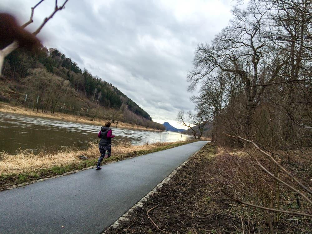 Laufen in der Sächsischen Schweiz