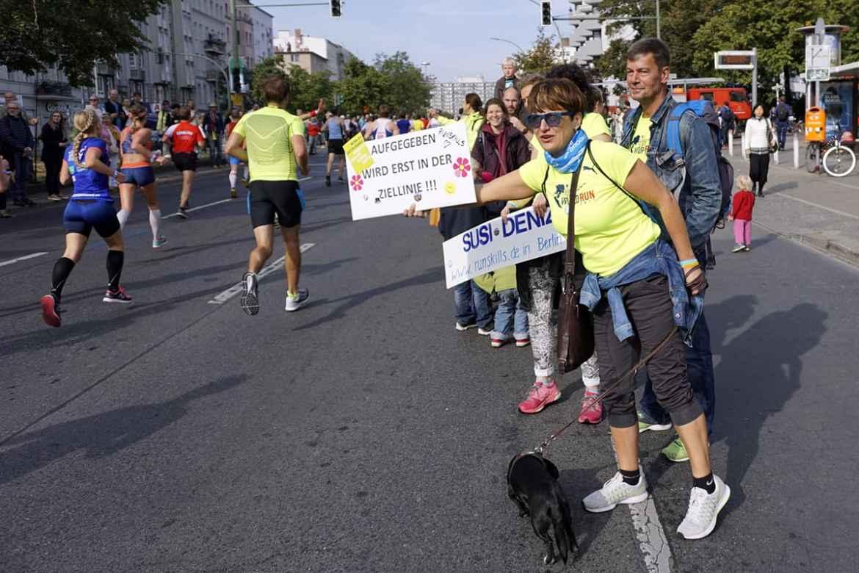 Beim Berlin Marathon gibt's das beste Publikum