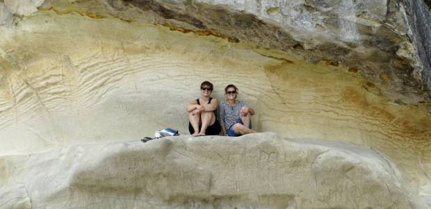 rundreise-neuseeland-coromandel-cathedral-cove-together