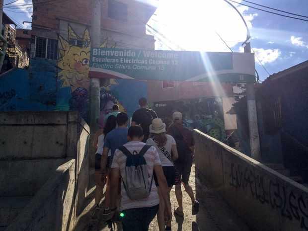 Willkommen in der Comuna 13