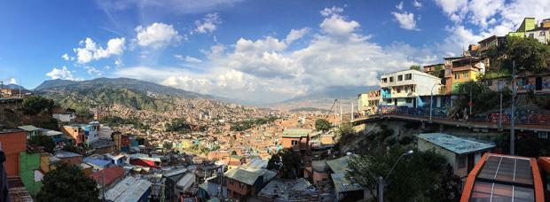 Ausblick Medellín