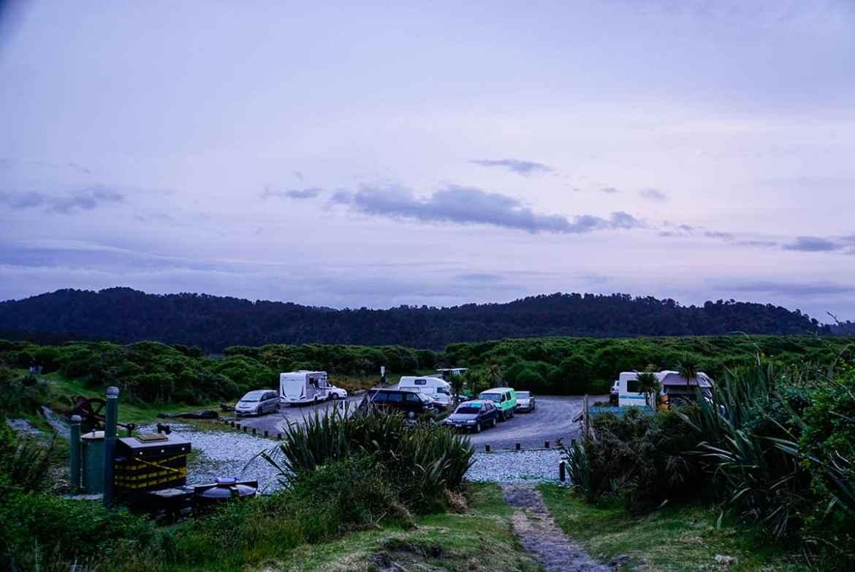 DOC Campground Gillespie Beach