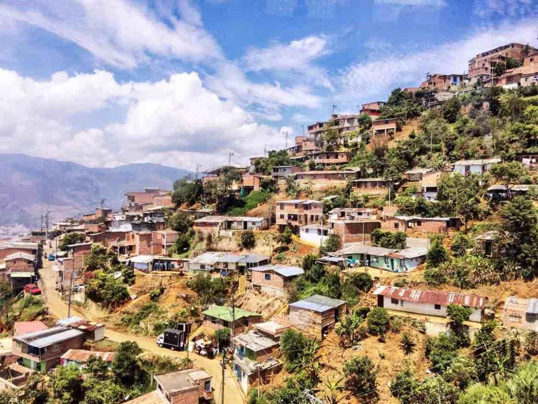 Ausblick Comuna Santo Domingo