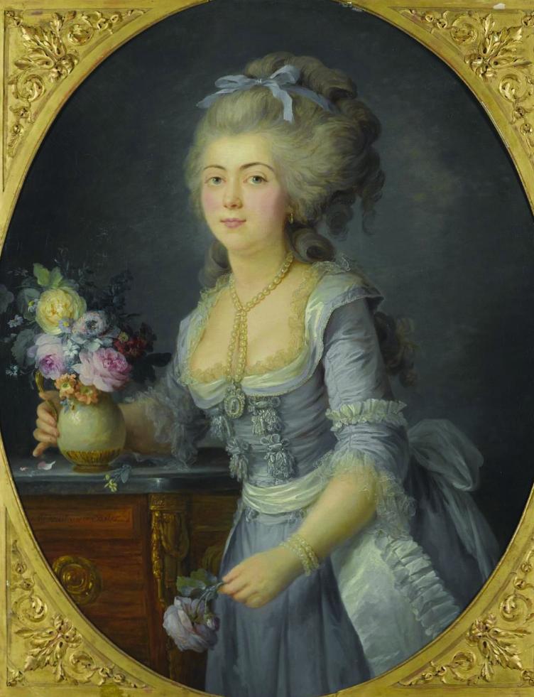 1781 Probable Exhibit Date Adlade Genet Madame Augui