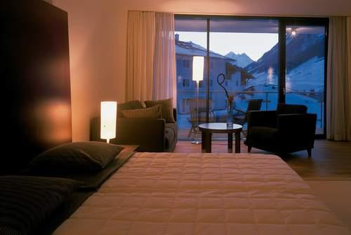 Ischgl, Tirolo, Hotel Madlein, camera