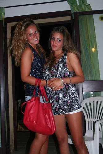 Biasì 2009 , Sardegna, 07.2009, Petra e Alessandra Thiele