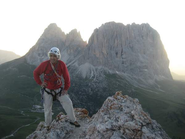 A. Gogna, Seconda Torre di Sella, via Bataian, quarta ascensione, in vetta