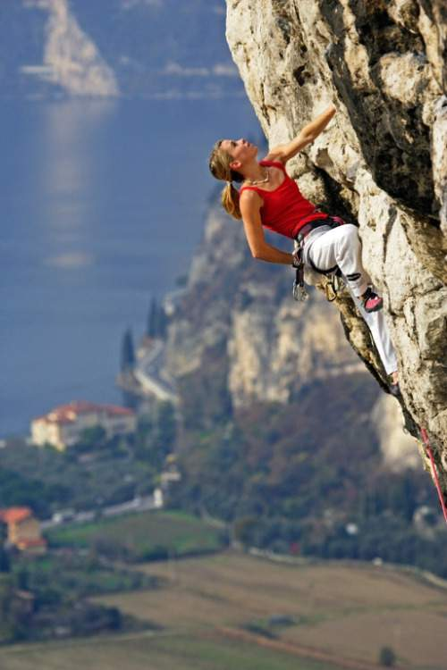 Climbing Girls 13 Maja Vidmar in Arco, Italy