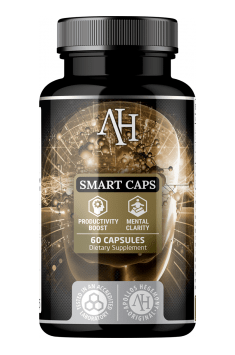Recommended supplement containing caffeine and other stimulants  - Smart Caps from Apollos Hegemony