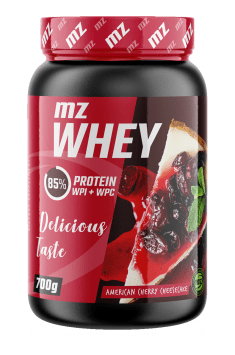 Recommended supplement containing high quality whey protein concentrate and isolate - MZ Whey from MZ Store