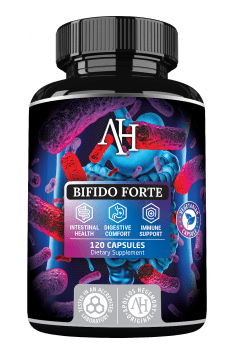 Bifido Forte is revolutionary product in probiotic segment. In contains a set of Bifidobacterium patented species, which are highly helpful for athletes health.