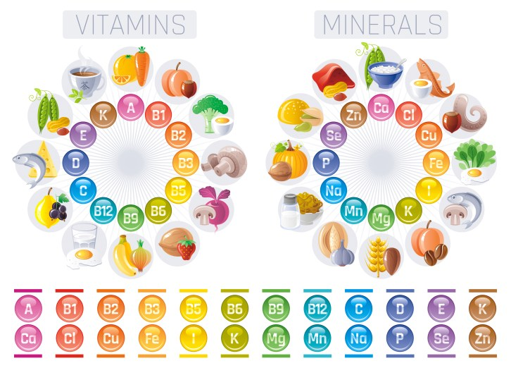 All vitamins and minerals... Can you catch them all?