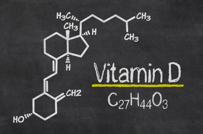 Vitamin D chemical structure