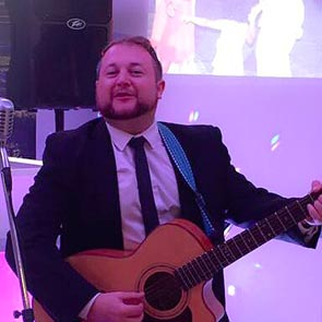 Wedding singer and guitarist yorkshire