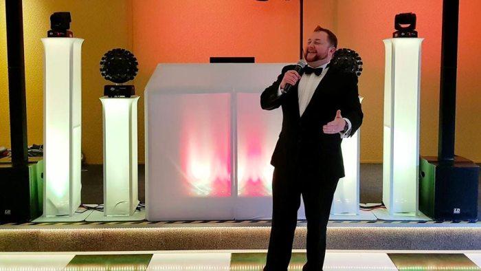 Daytime wedding host and DJ Yorkshire