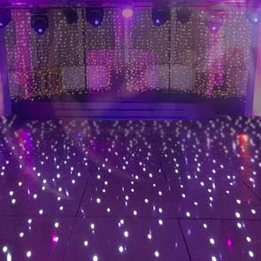 Starlit LED Dancefloor Yorkshire for Weddings