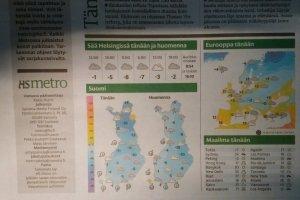 ヘルシンキの天気と気温