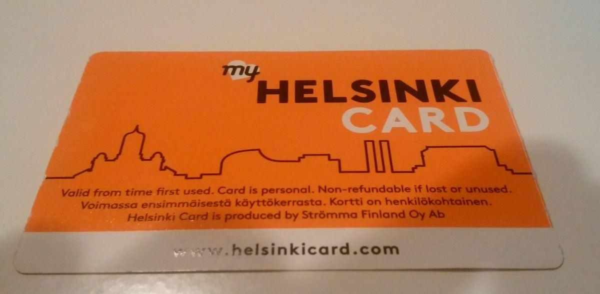 【交通や博物館も無料】ヘルシンキカード購入レポート!