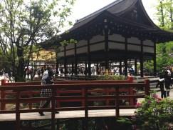 Inside Shimogamo Shrine