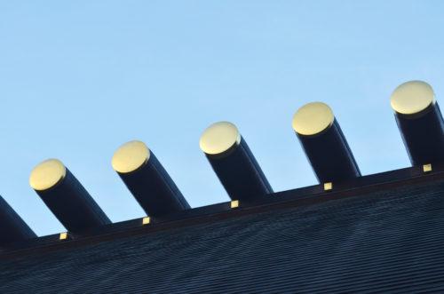 Roof at Atsuta Shrine