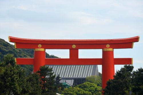 Heian Shrine's Torii