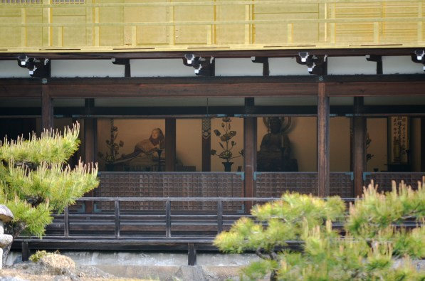 Kinkaku-ji interior