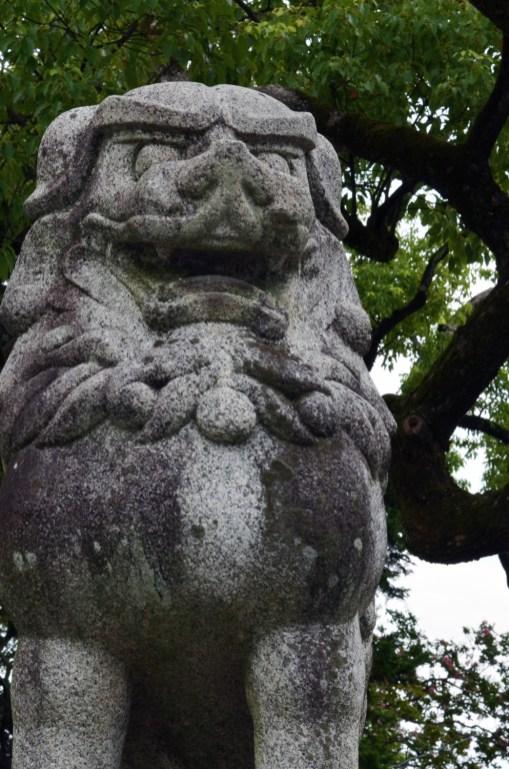 Tejikarao Shrine shishi