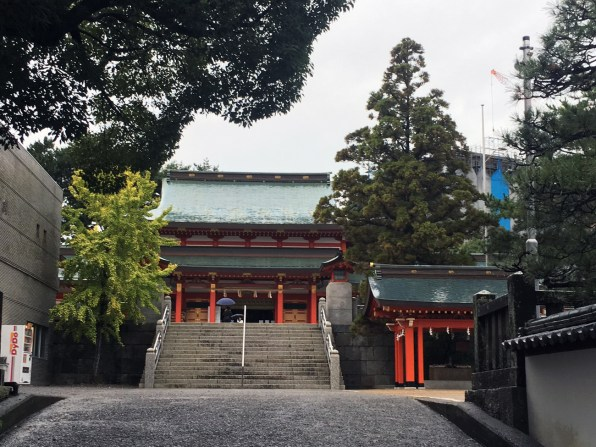 Gosha suwa shrine distant