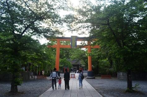 Hirano Shrine Torii