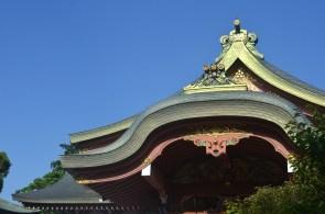 Kitano Tenman-gu roof